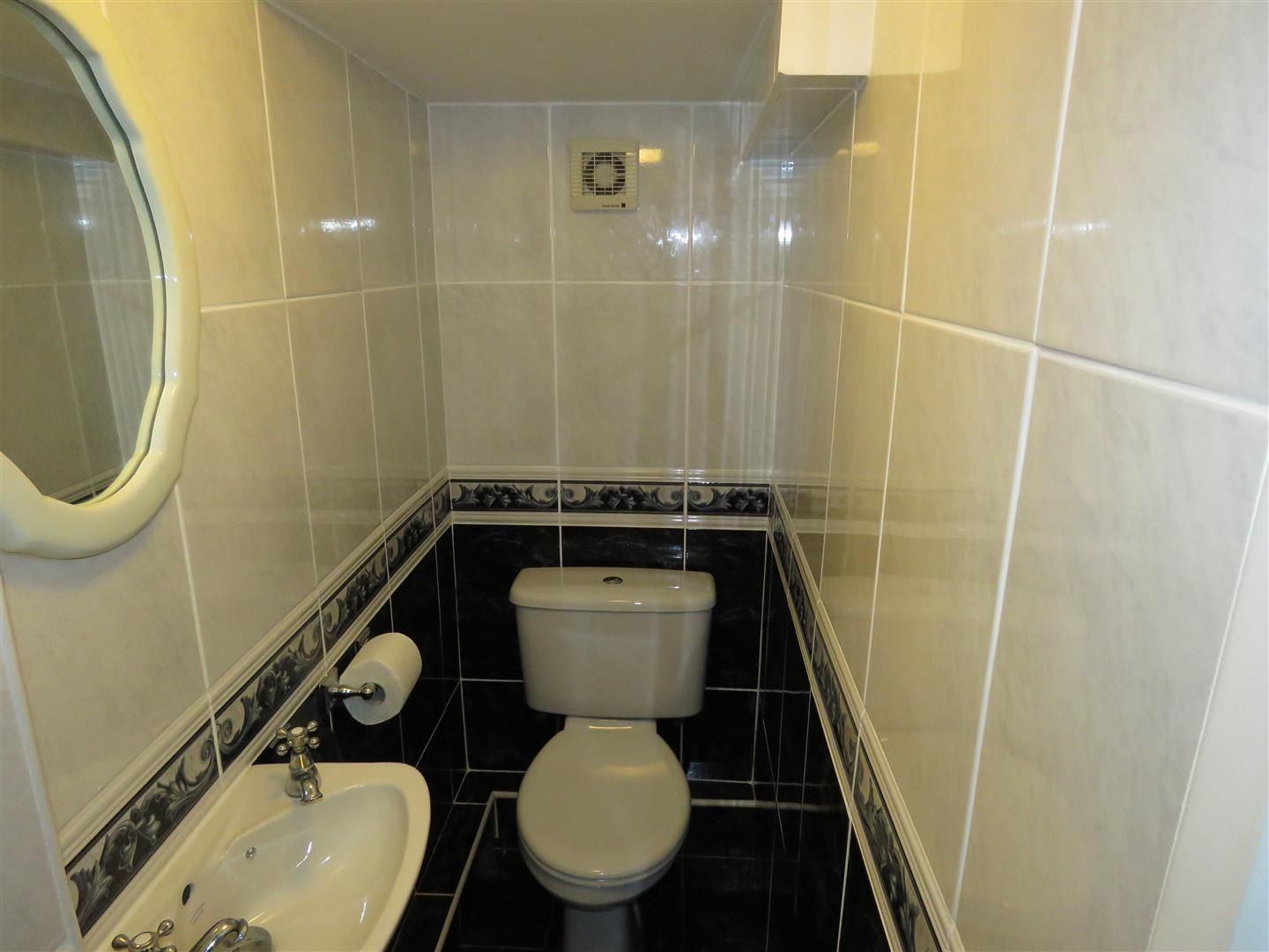 Downstairs cloakroom WC